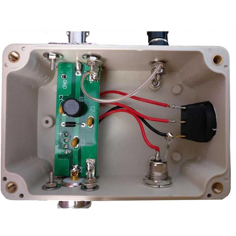 Ffyy-antena ativa 10 khz a 30 mhz mini chicote hf lf vhf sdr rx com cabo portátil
