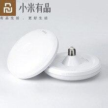 Youpin E27 ledライトled電球220 12v 6ワット12ワット18ワット24ワット30ワット36ワットランパーダクールホワイトランプufoランプ家庭用倉庫オフィスシャンデリア