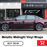 Newest color wrapping film glossy metallic Midnight pink car wrapping roll high end metallic wrapping film 1.52x18m 5x59ft|  -