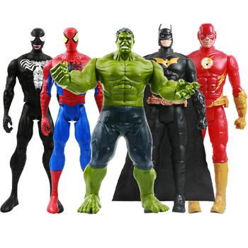 12 #8221 30cm Marvel Avengers Venom kapitan ameryka Spiderman Thanos Hulk Iron Man Thor Groot Action figurki zabawki na prezent dla dzieci tanie i dobre opinie Disney Model 4-6y 7-12y 12 + y CN (pochodzenie) Unisex druga edycja Peryferyjne Zachodnia animacja Produkty na stanie Wyroby gotowe