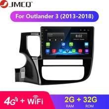 For Mitsubishi Outlander 3 GF0W GG0W 2012-2018 2G+32G Android 8.1 4G HiFi Car Radio Multimedia Video Player Navigation GPS 2 Din