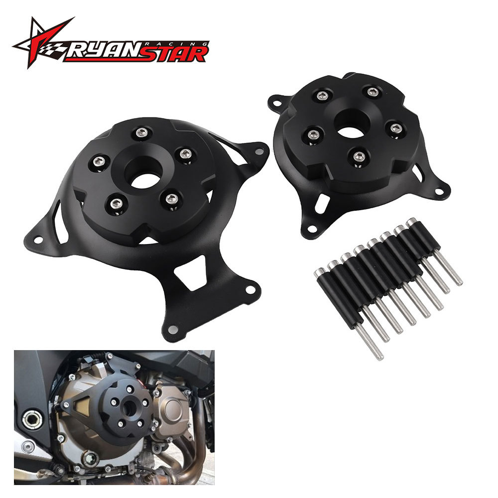 Cross Border Hot Sales Motorcycle Engine Protective Cover 2013-16 Kawasaki Z800 Side Cover Shatter-resistant Engine Protection B