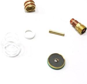 Image 2 - Kit de tasses Pyrex, lampes à gaz 17, 26, 18, soudure TIG, #16, soudage