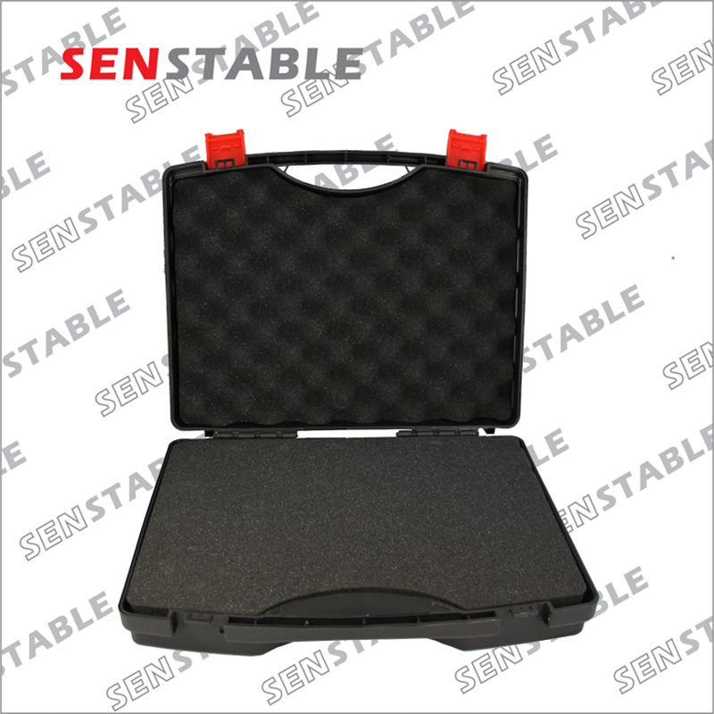 Купить с кэшбэком 330X215X70MM Plastic Tool case suitcase toolbox Impact resistant safety case equipment Instrument box equipme with pre-cut foam