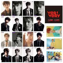 Фотокарточка kpop verivery team открытка для участников веера