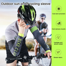 2Pcs Men Cycling Running Bicycle UV Sun Protection Cuff Cover Protective Arm Sleeve Bike Sport Arm Warmers Sleeves