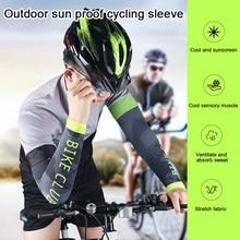 2 adet erkekler bisiklet çalışan bisiklet UV güneş koruma manşet kapağı koruyucu kol kol bisiklet spor kol ısıtıcıları kollu