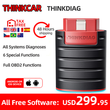 Thinkcar ThinkDiag obd2 Code Reader Scanner Automative diagnostic tool Vehicle 15 reset service Active Test pk EasyDiag AP200 thinkcar thinkdiag auto obd2 scanner code reader full system obdii scanner automotive obd2 diagnostic tool 15 reset services