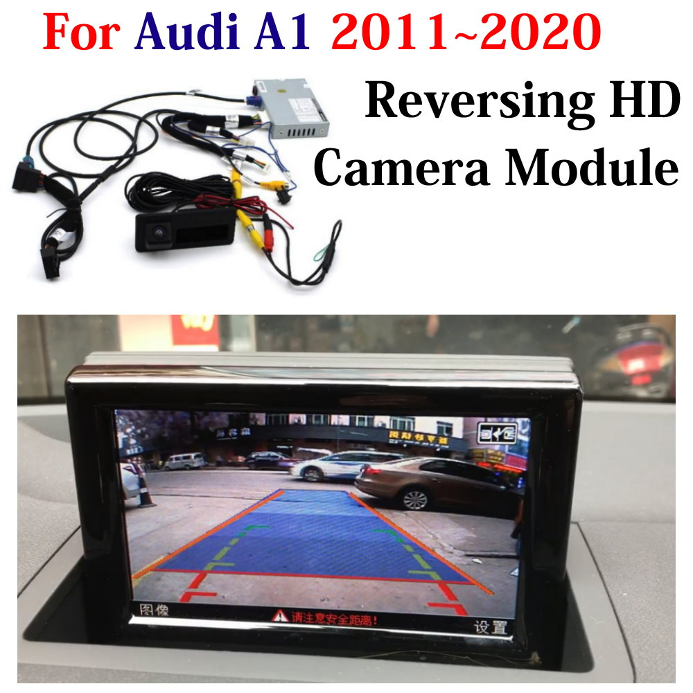 HD Front Rear Reverse Camera For Audi A1 8X 2011-2018 2019 2020 Car DVR Original Screen Upgrade Decoder Parking Assist System
