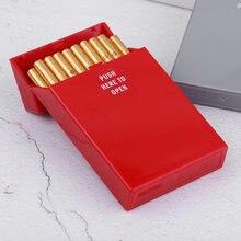 20 палочек утолщенная пластиковая коробка для сигарет женщин