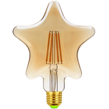 цена на TIANFAN Led Bulbs Vintage Light Bulb φ120mm Star Gold Tint Glass 4W 220/240V E27 2500K Super Warm White Edison Led Bulb