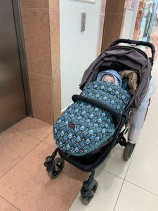 Image 2 - תינוק עגלת שק שינה חורף חם Sleepsack Windproof עבור תינוקות כיסא גלגלים מעטפות Footmuff