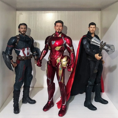 30cm Avenger Crazy Iron Man Tony Stark American Captain Thor Doctor Strange MK50 1/6th Scale Collectible Figure Model Toy Gifts