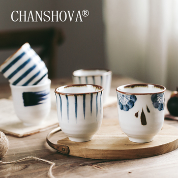CHANSHOVA 200ml tradycyjny chiński styl ręcznie malowane ceramiczne filiżanka do herbaty chińska porcelana mały i duży filiżanki do kawy kubek H291 tanie i dobre opinie CN (pochodzenie) Filiżanki do herbaty Porcelany Ekologiczne 35ml 200ml Traditional Chinese style Handpainted High temperature firing