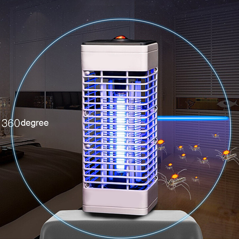 Home Use Electric Radiation-free Fly Bug Zapper Lamp Trap Catcher Insect Mosquito Killer NEW