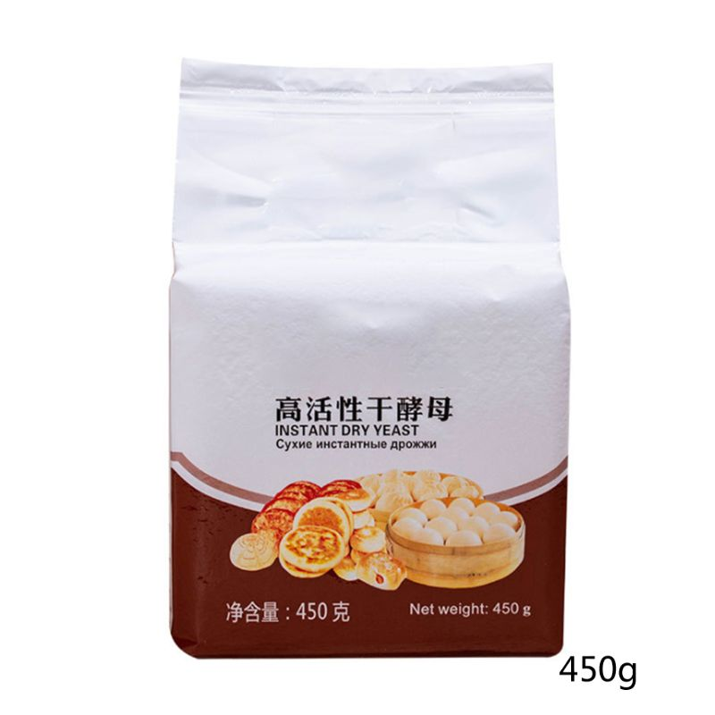 450g Low Glucose Tolerance Instant Dry Yeast Highly Active Powder Bread Making 11UC