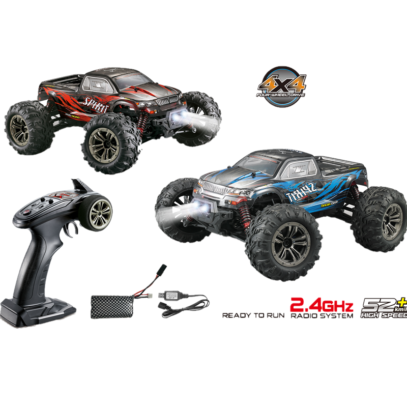 XLH RC <font><b>Cars</b></font> Q901 2.4G 1:16 Full Proportion Racing <font><b>Car</b></font> Supersonic Truck 4WD Off-Road Vehicle Buggy <font><b>Electronic</b></font> <font><b>Toys</b></font> For Kids Gifts image