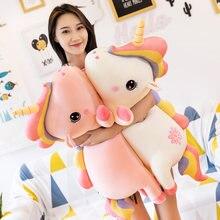 Kawaii Plush Rainbow Unicorn Toy Stuffed Unicorn Sofa Plush Pillow Cushion Kids Children Toy Home Decoartion Girl Gift