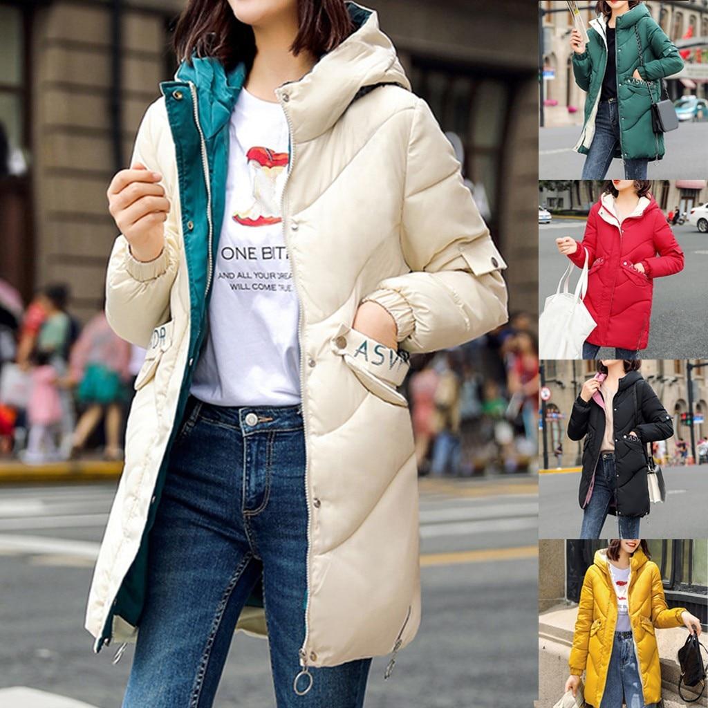 2019 Winter & Spring Women Jacket Short   Down   Outwear Female Winter   Coat   Cotton Padded Warm Jacket Outwear Women Winter   Down     Coat