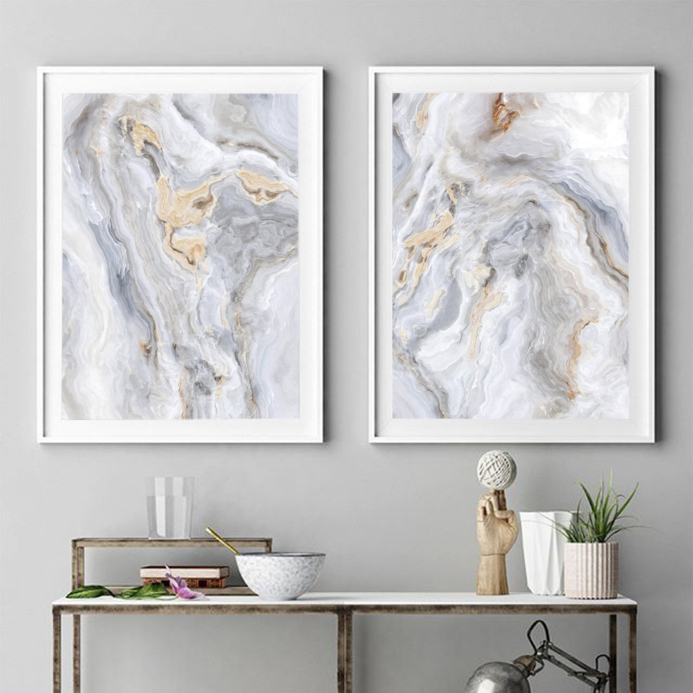 Agate Art Print Home Decor Wall Art Poster E
