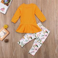 2021 printemps été filles vêtements ensemble tenues enfants mode enfant en bas âge enfants haut + pantalon 18M à 10 ans