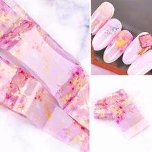 Наклейки для ногтей мраморная серия Переводные украшения из