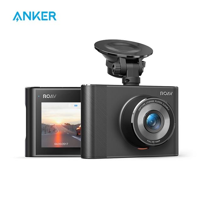 Anker Cámara de salpicadero Roav A1 grabadora, 1080P, FHD, gran angular, WiFi, g sensor, WDR, grabación en bucle, modo nocturno