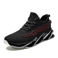 Men Mesh Casual Shoes Lace Up New 2019 Men Sneakers Spring Autumn Breathable Fashion Comfortable Male Footwear Running Shoes