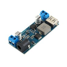 5V 6A DC-DC 30W Voltage Step Down Power Supply Buck Module Board 9-36V 12V 24V to 5V USB Charging XH-M249 5v 5a high current 24v low voltage wireless charging module ic scheme