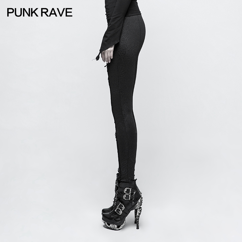Nessaj nuevas Leggings de mujer estampado negro Leggings elásticos casuales Leggings elásticos de cintura alta pantalones estirados 2019 - 4