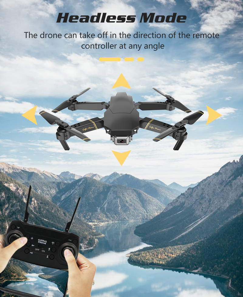 Drone Gd89 Fold Uav Ship Time Aerocraft Remote Control Aircraft Vs E58 Gw89 1080P HD Camera RC Drone