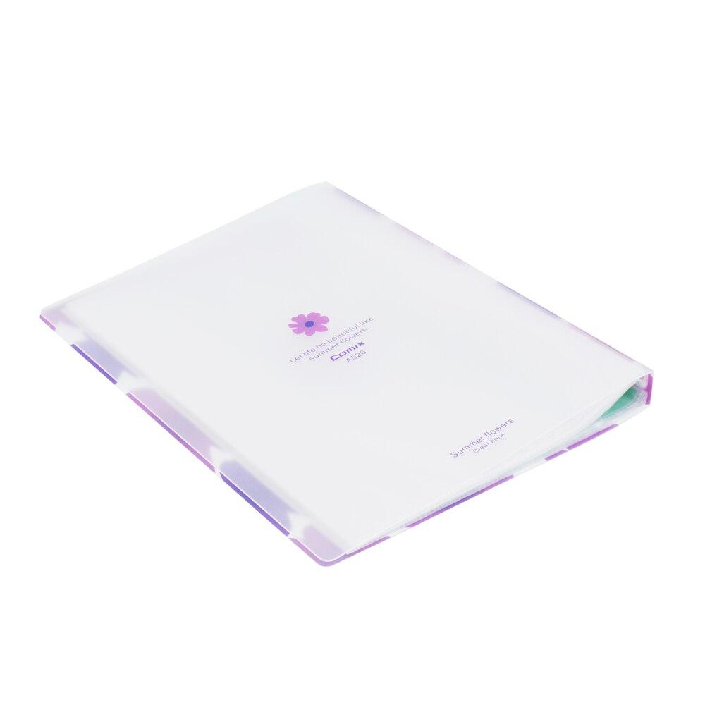 comix a4 expositor book 40 bolsos pastas com plastico sleeves a526 04