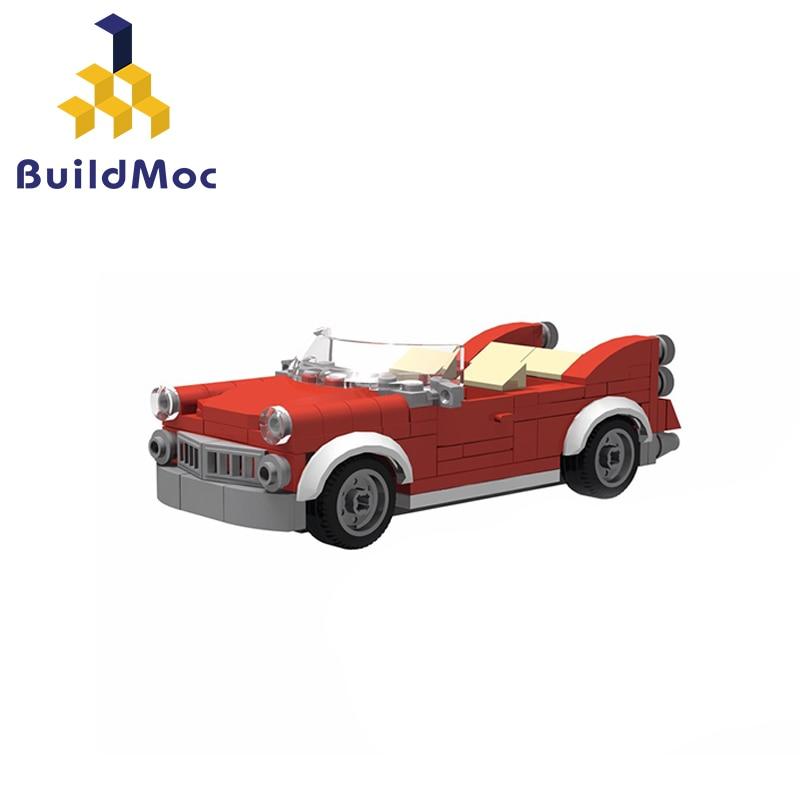 BuildMoc 11226 10260 samochód MOC klocki kompatybilny Technic wywrotka budowa miasta cegły zabawki dla dzieci