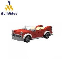 Buildmoc 11226 10260 carro moc blocos de construção compatível técnica basculante cidade carro construção tijolos brinquedos para crianças