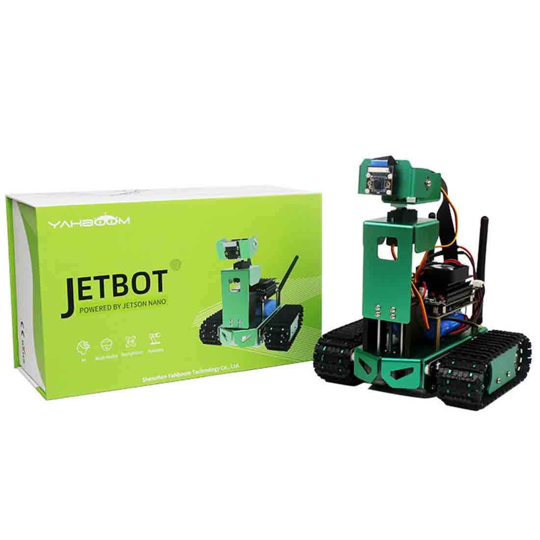 New Artificial Intelligence Car DIY 3DOF/2DOF Robot Car Kit With Development Board For Jetson Nano (Adjustable/Fixed Height)