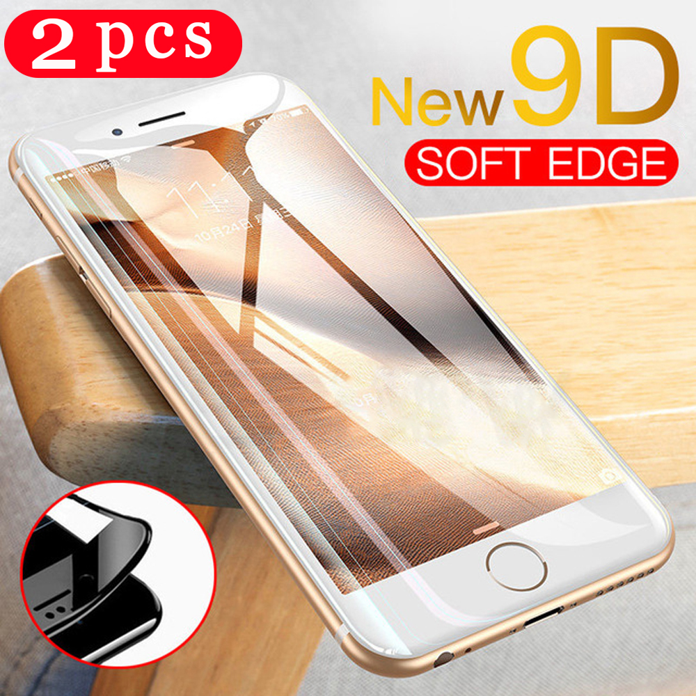 2Pcs Tempered glass for iphone 5 5S SE 5C 6 6s 7 8 plus phone screen protector for iphone 11 pro X XS MAX XR protective film image