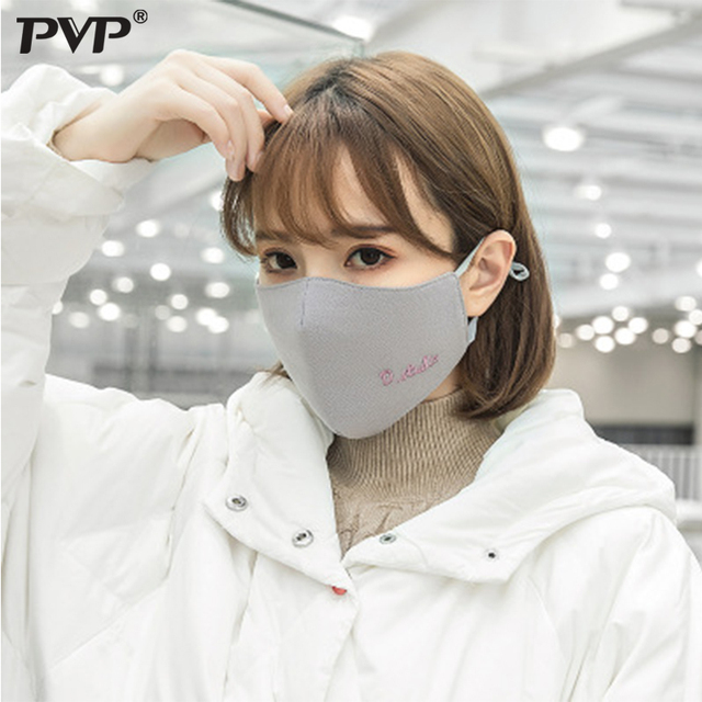 PVP 1Pcs Fashion Rabbit Face Mouth Mask Anti Dust Mask Filter Windproof Mouth-muffle  Face Masks Care Reusable anime mask 5