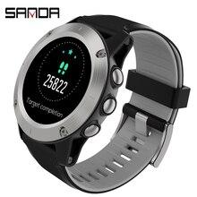SANDA, умные часы для женщин и мужчин, цифровые часы для Android, IOS, электроника, умные часы, фитнес-трекер, силиконовый ремешок, умные часы, часы
