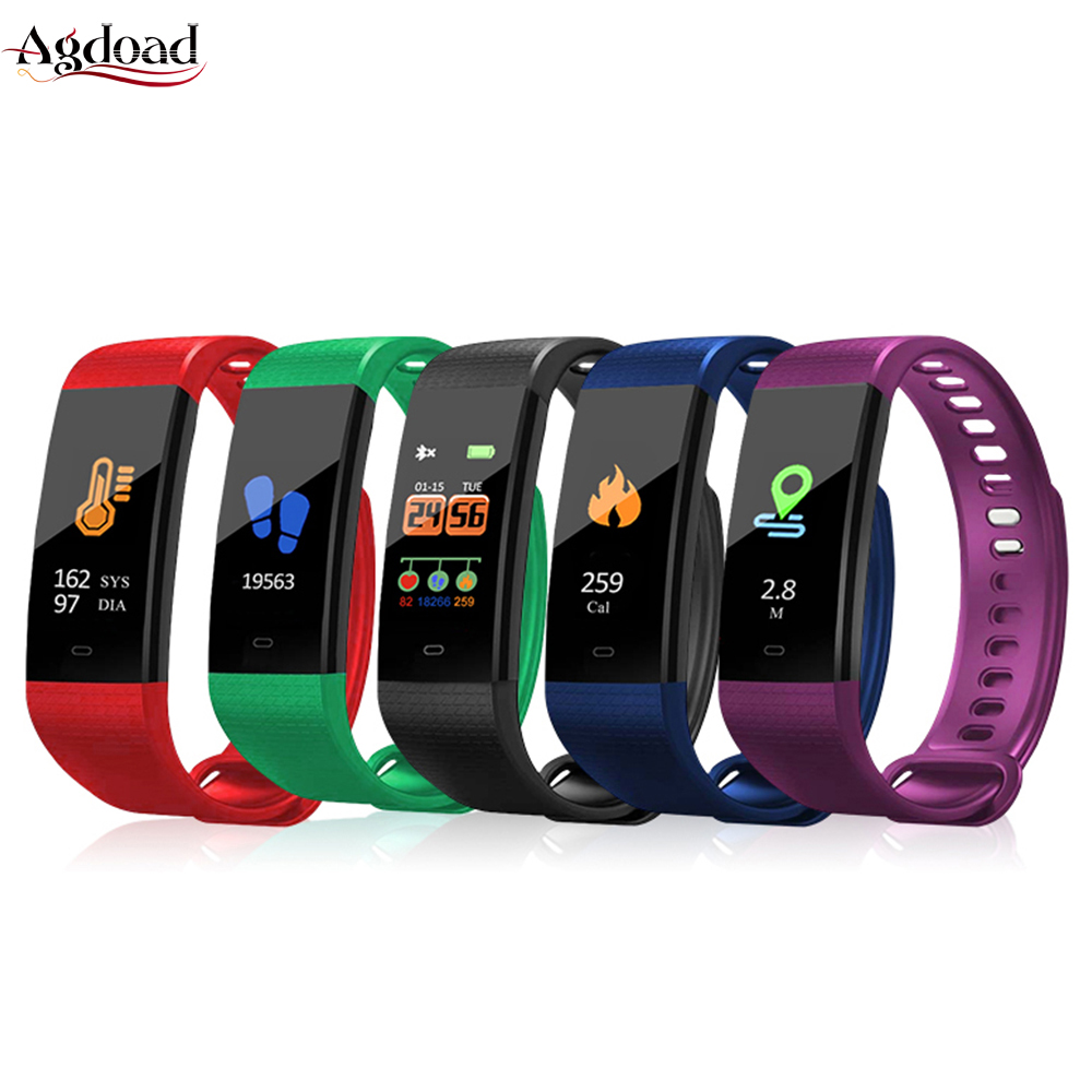 Bracelet Oximeter Watches Heart-Rate-Band Blood-Pressure-Monitor Oxygen Wrist Sports-Fitness-Tracker