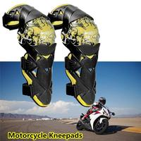 Motocross Knee Protective Gear Motorcycle Riding Protector Knee Pad Warm Windproof Anti fall Leg Protective Kneepads
