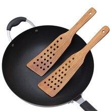 Não-vara de madeira espátula turner frito pá saúde natural bambu ferramentas de cozinha cozinha cozinha jantar misturando utensílios de cozinha