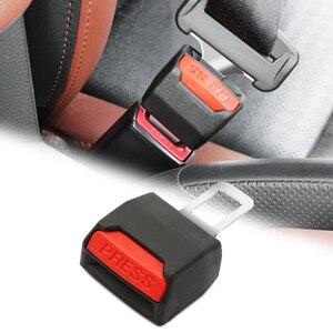 1 pçs auto caminhão de carro universal segurança cinto de segurança clipe cinto de segurança seguro-extensão de cinto extensor fivela botão plug atacado