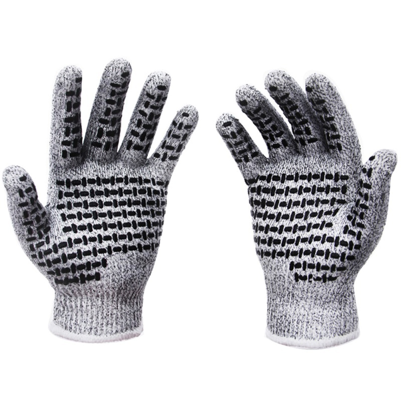 Level 5 Anti-Cut Gloves Kitchen Cut Resistant Anti-slip Breathable Hand Protector Car Maintenance Accessories