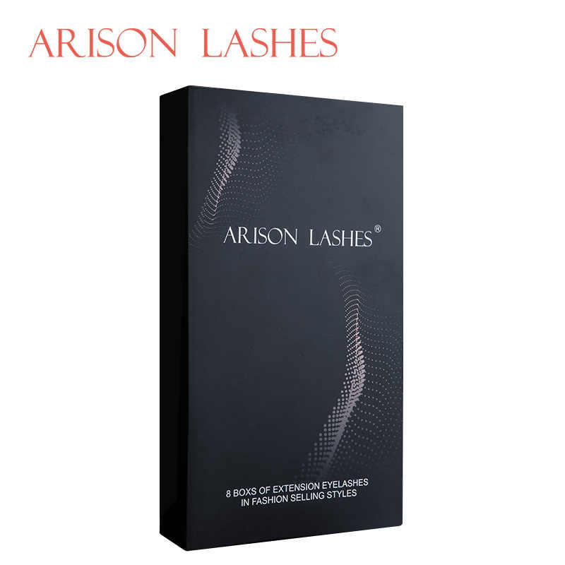Arison lash 2020 new design 8 Case All Size C D B J curl eyelash extensions