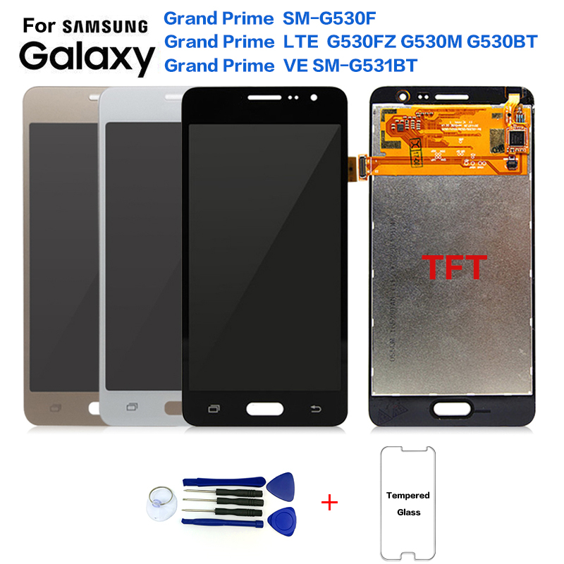 For SAMSUNG Grand Prime G530 SM-G530F G531BT Display LCD Screen Replacement For Samsung G530M G530FZ G530BT LCD Display Screen