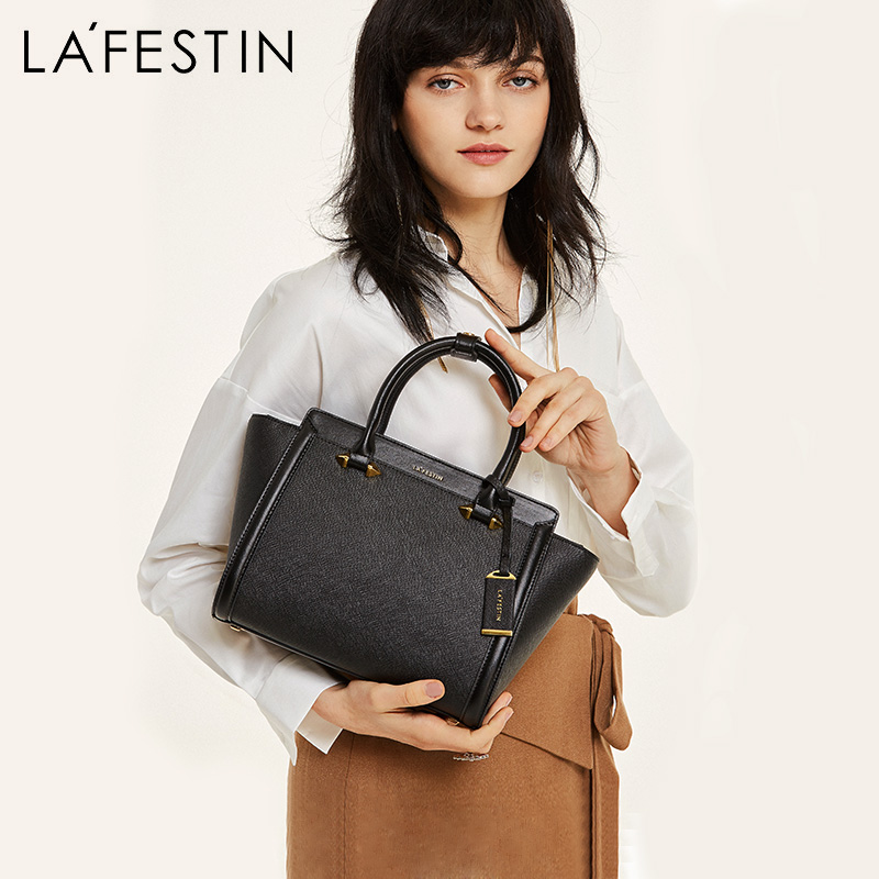 LAFESTIN Famous Handbags Women Designer Fashion Bags Trapeze Shoulder Luxury Totes Bags Multifunction Brands Bag Bolsa