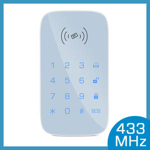 433MHz Wireless keypad for smart home security system kit for burglar fire alarm host