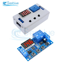 Relay-Module Switch Timer-Control Automation-Delay-Relay Digital-Display Trigger Cycle