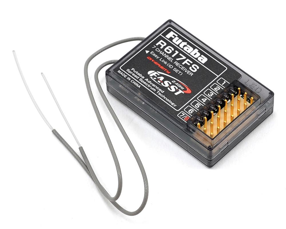 الأصلي فوتابا R617FS 2.4G 7 قناة استقبال نظام FASST R2008SB للطائرات أو الفضاء نماذج-في قطع غيار وملحقات من الألعاب والهوايات على  مجموعة 1