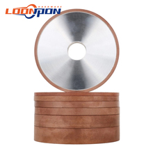 100mm Diamond Grinding Wheel parallel Grinder Disc For Carbide Tungsten Steel Milling Cutter 20mm Hole  80-400Grit